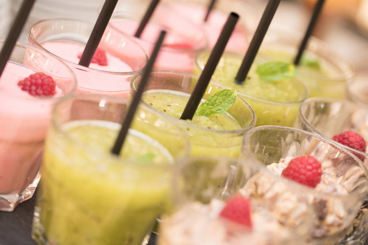 Obst-Smoothies Hotel Traube Revital