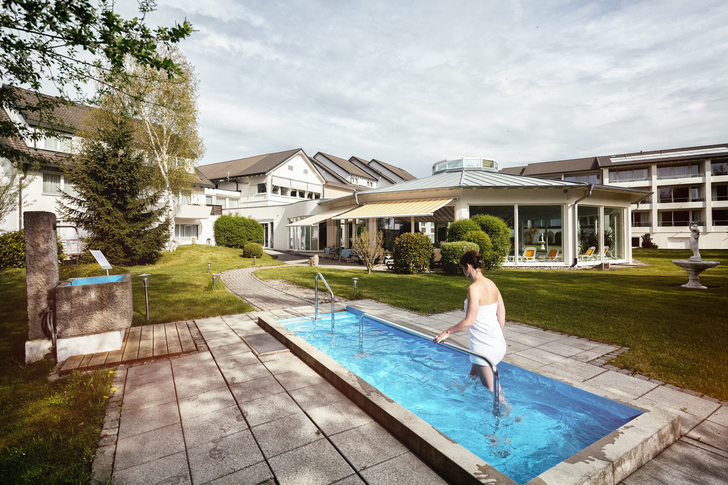 Wellnesshotel Traube Revital Kneippbecken
